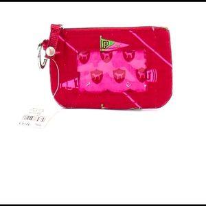 Red & Pink_ VSPink ID holder
